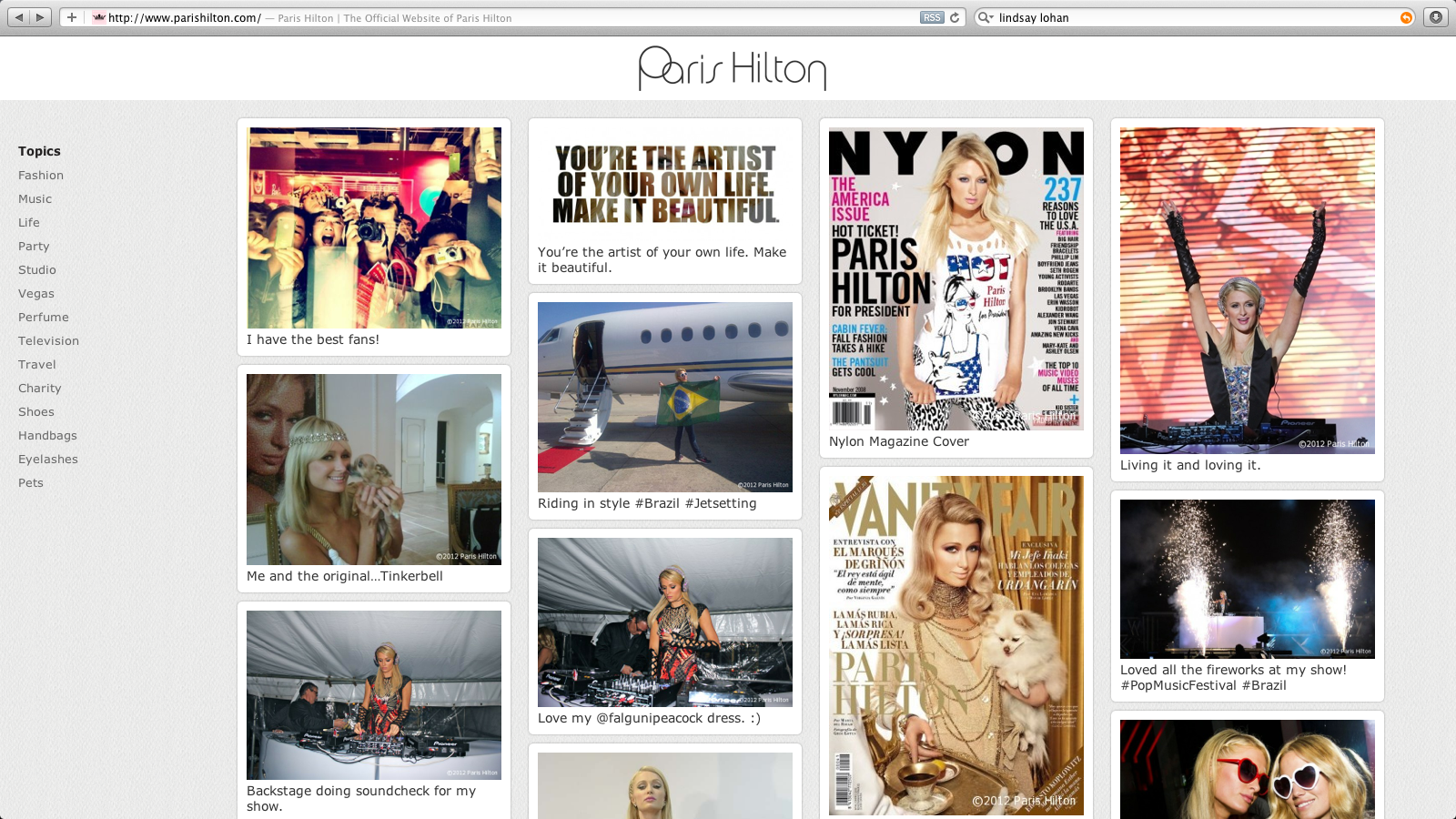 Paris Hilton screenshot