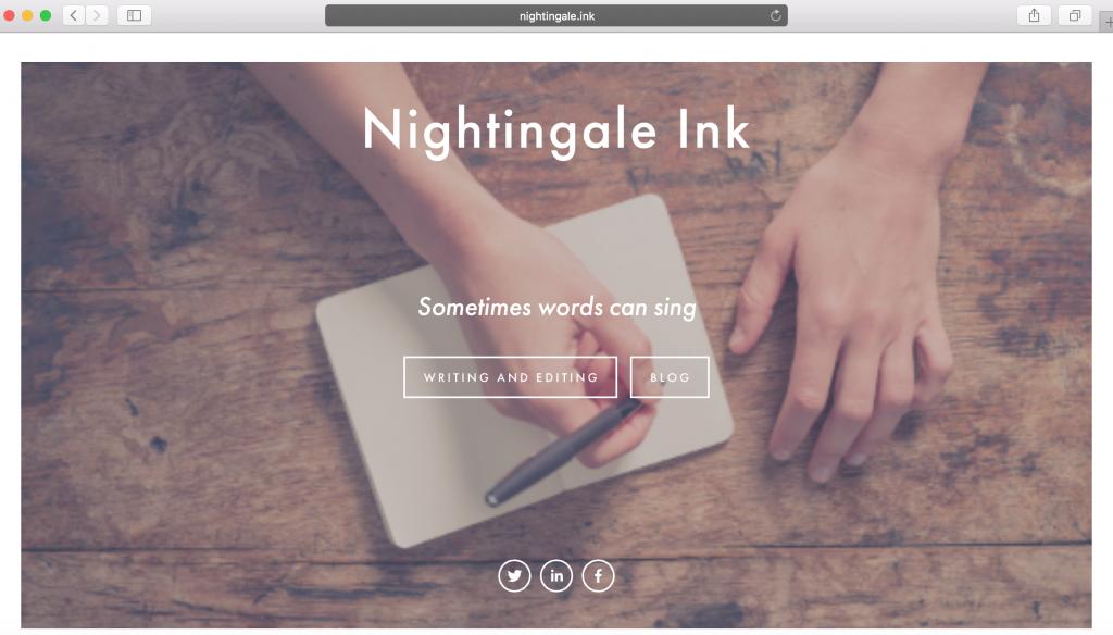 nightingale ink