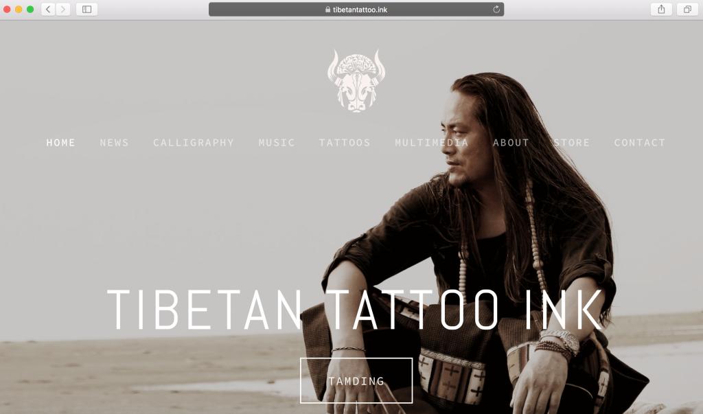 tibetan tattoo ink