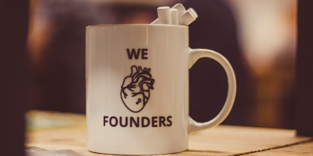 A bug that says we love technical founders but the heart is a human heart