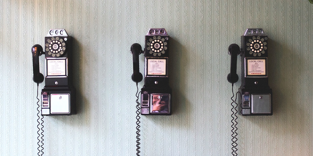 telephones for communication