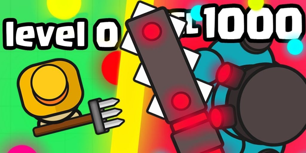 picture of monowar.io, one of the io games