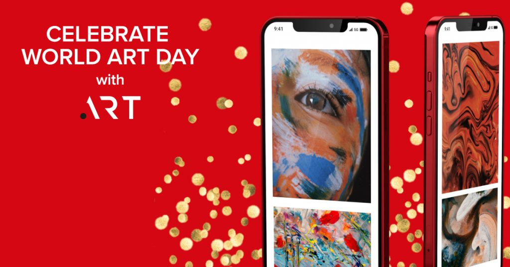 Celebrate World Art Day with a .ART domain name of your own!